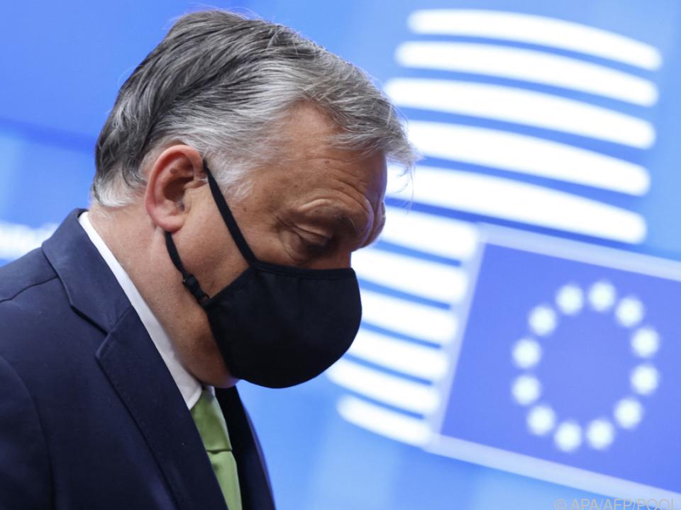 Orban risikiert vor Wahl in Heimat weiteren Streit mit EU-Partnern