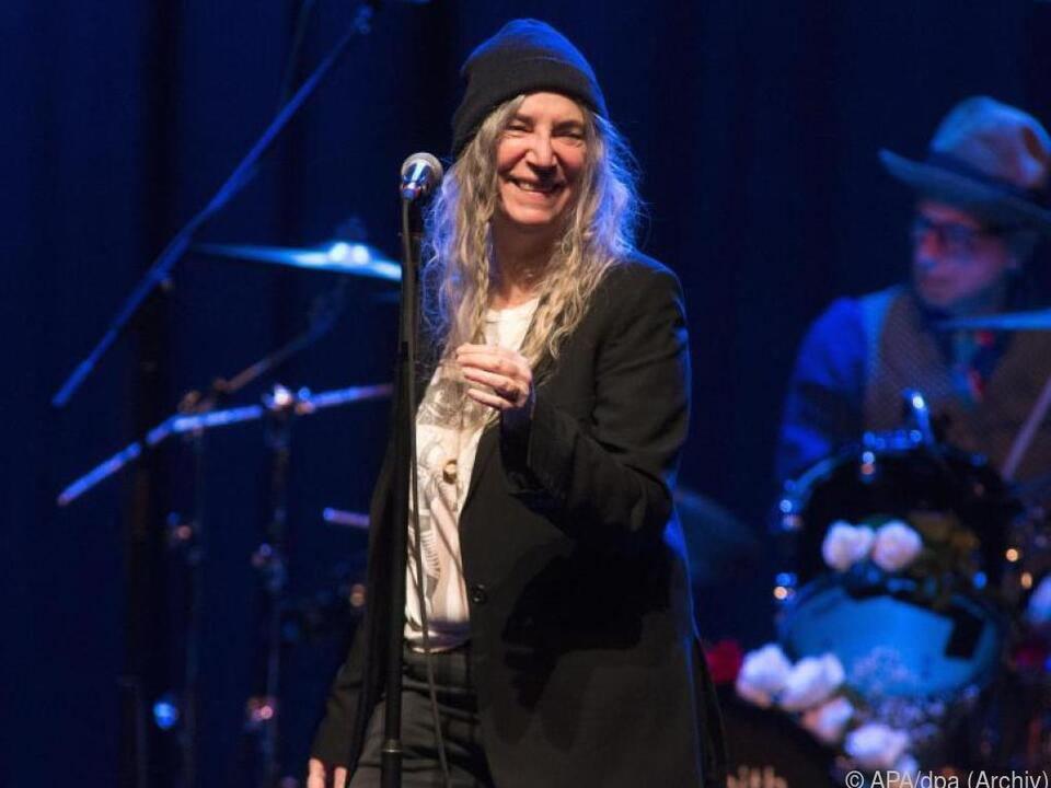 Patti Smith darf in New York nicht fehlen.