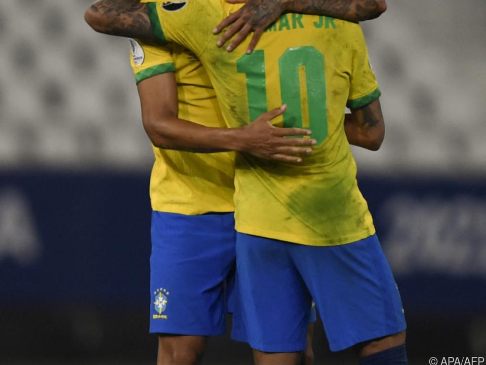 Brasilien feiert 1:0 gegen Chile bei Copa América