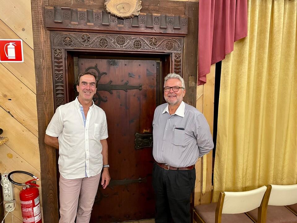 PM HGV OV Auer_Max Gallmetzer (links) und Markus Graiff