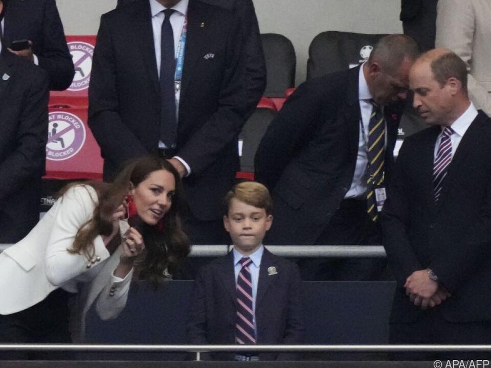 Prinz George durfte mit Mama und Papa länger aufbleiben
