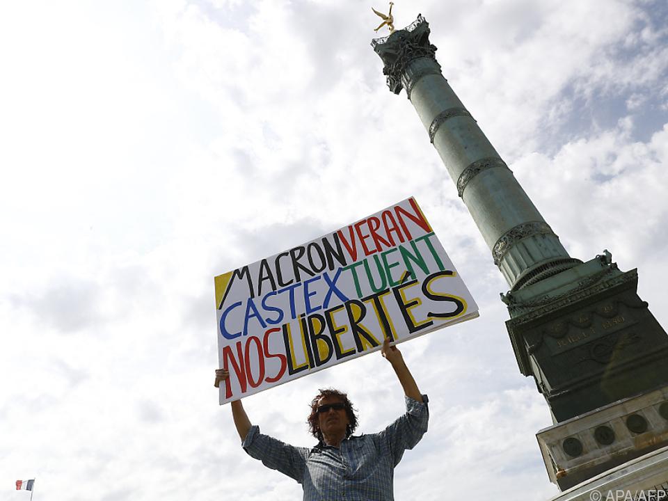 Proteste gegen strengere Corona-Regeln