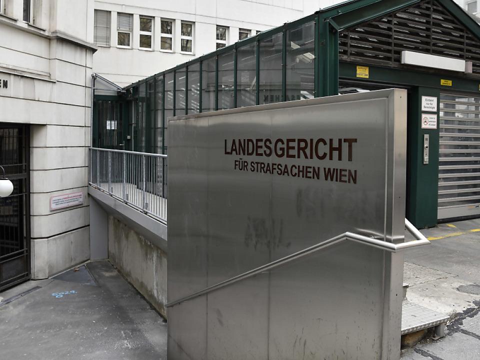 Prozess gegen acht Polizisten am Wiener Straflandesgericht
