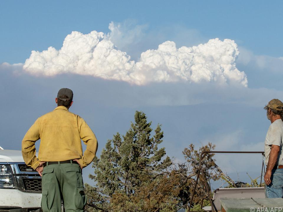 Rauchwolken im wahrsten Sinne des Wortes