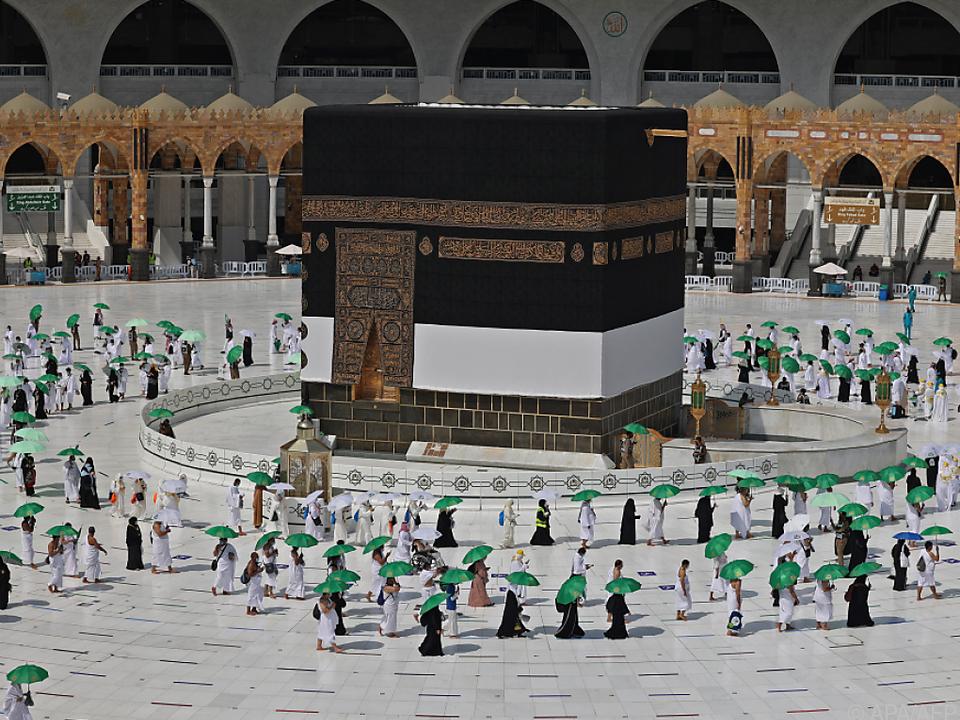 Schon am Samstag trafen zahlreiche Pilger in Mekka ein