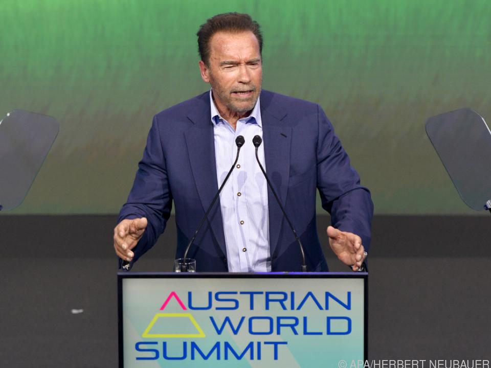 Schwarzenegger kämpft gegen Luftverschmutzung