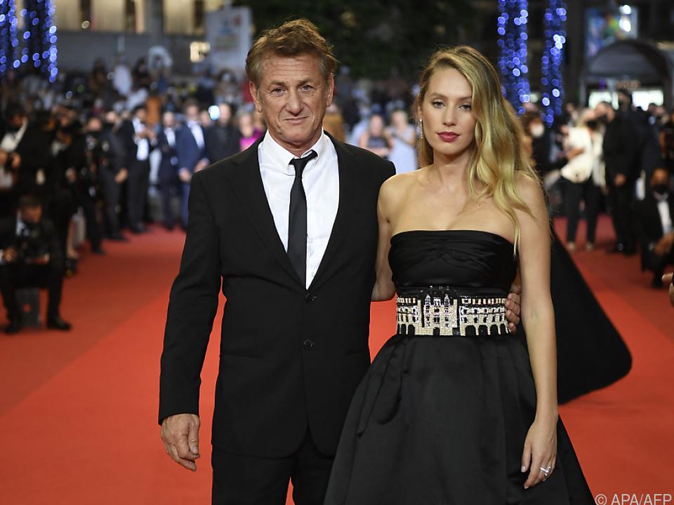 Sean Penn und seine Tochter Dylan auf dem Roten Teppich in Cannes