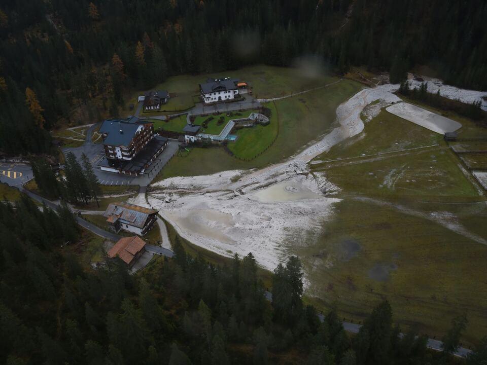 Sexten Vaia Oktober 2018 Hochwasser lpa