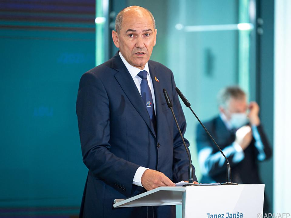 Sloweniens Ministerpräsident sorgt für Aufregung
