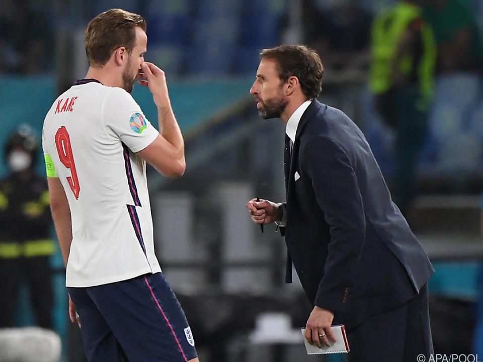 Southgate und Kane planen Englands großen Coup