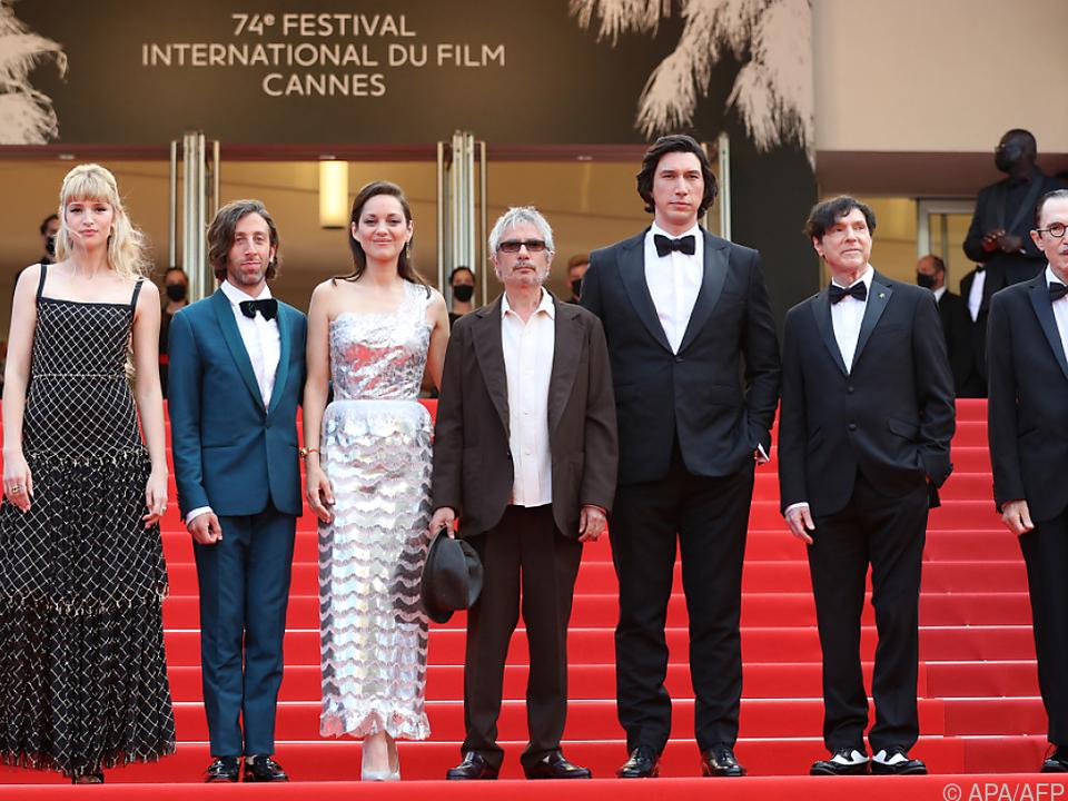 Staraufgebot auf dem Roten Teppich in Cannes