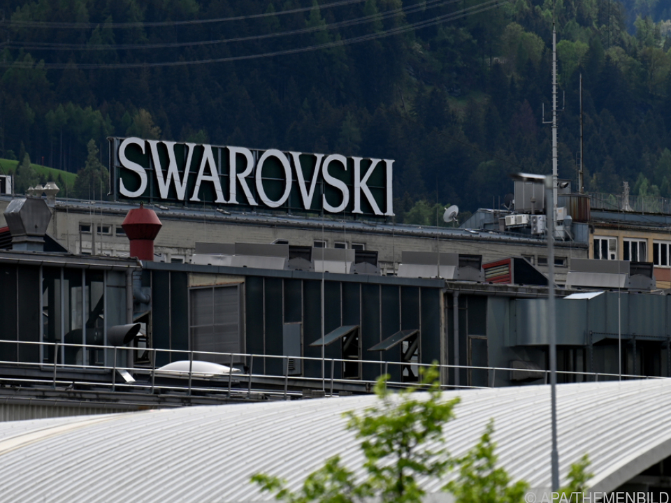 Swarovski-Logo in Wattens