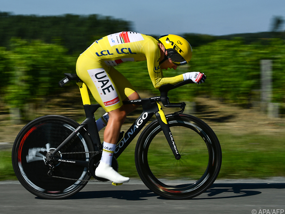 Tadej Pogacar steht vor seinem zweiten Tour-de-France-Sieg
