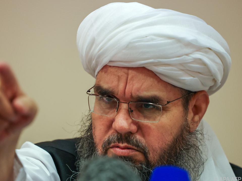 Taliban-Abgesandter Shahabuddin Delawar in Moskau