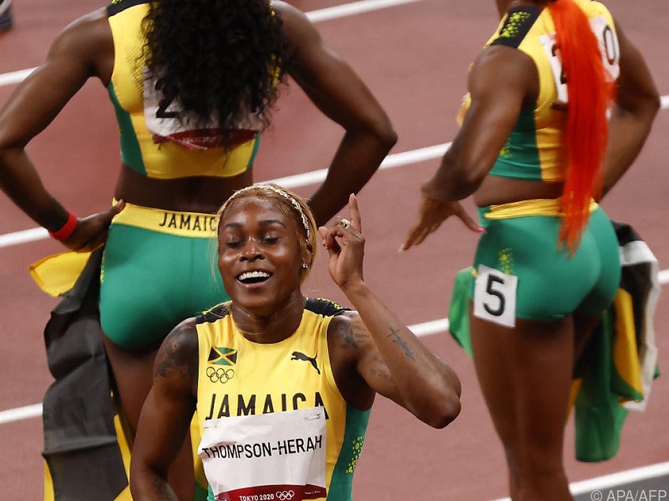 Thompson-Herah ist die schnellste Frau der Welt