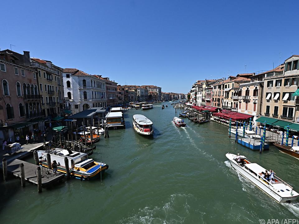 Touristen aus England, China und Russland fehlen in Venedig.