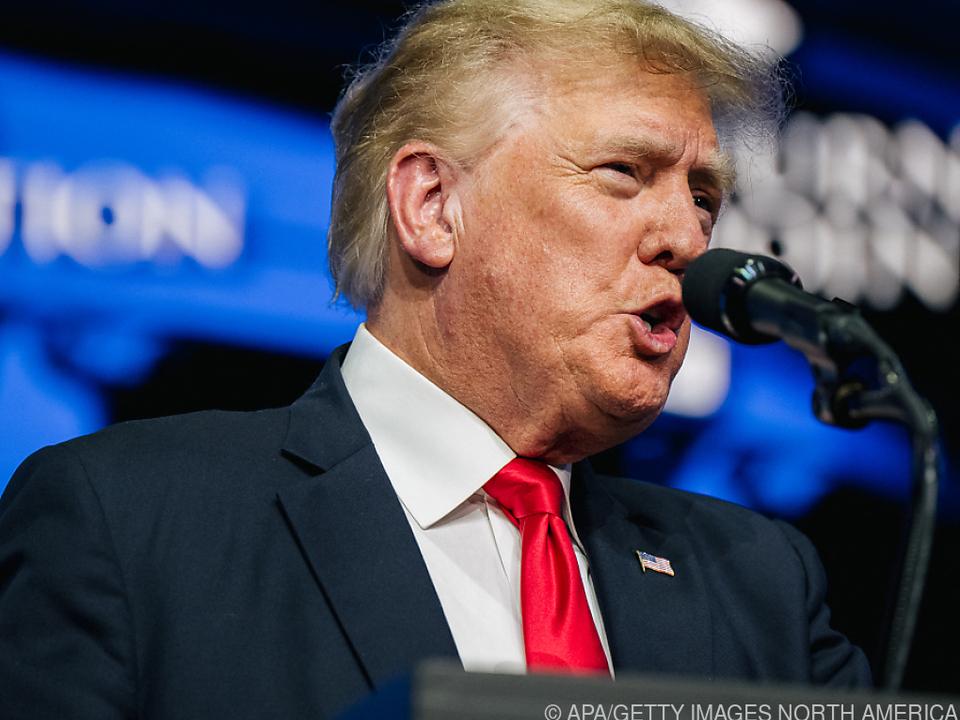 Trump hat seine Niederlage noch immer nicht akzeptiert