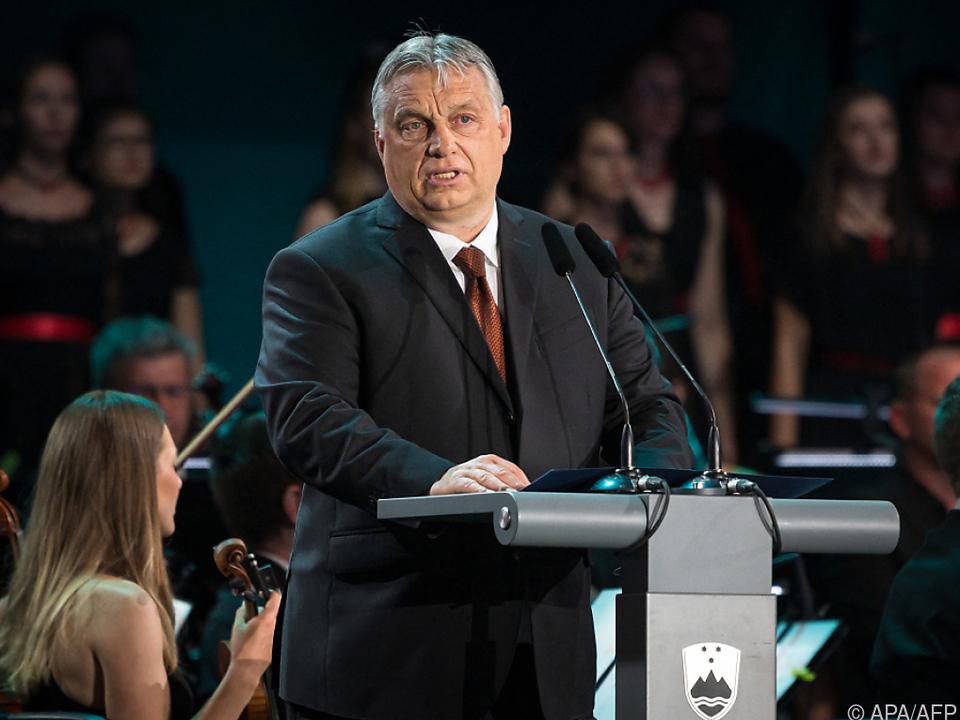 Ungarns Premier sucht die Konfrontation mit der EU