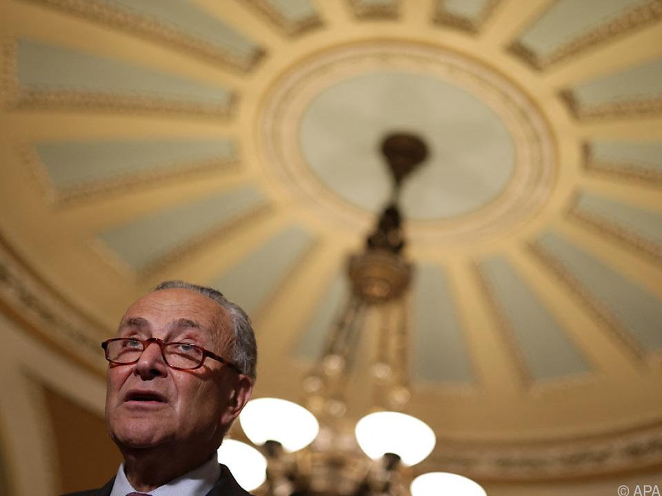 US-Senator Chuck Schumer