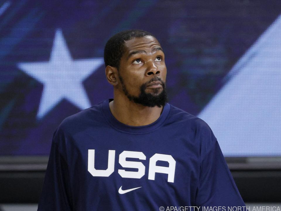 US-Star Kevin Durant erlebte eine Niederlage zum Auftakt