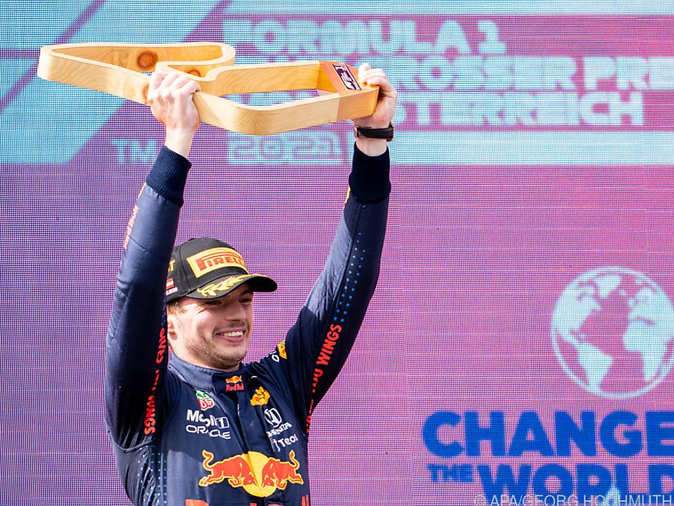 Verstappen triumphiert auch im zweiten Österreich-Rennen