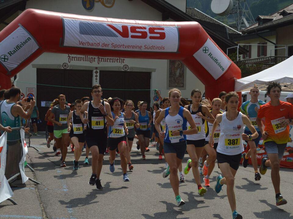 VSS-Raiffeisen Stadt- und Dorflauf 2021 in Sarnthein