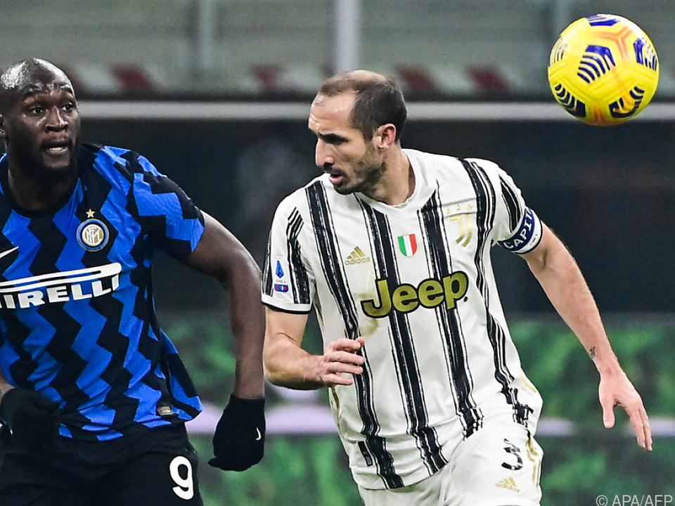 Wiedersehen in München: Inters Lukaku und Juve-Verteidiger Chiellini