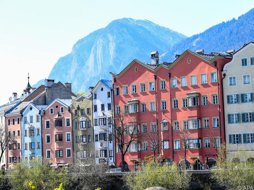 Wohnen ist in Innsbruck am teuersten