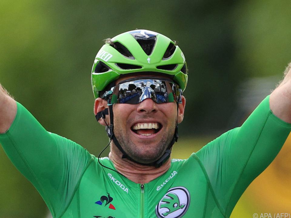 Zwei Tour-Etappensiege fehlen Cavendish noch auf Merckx
