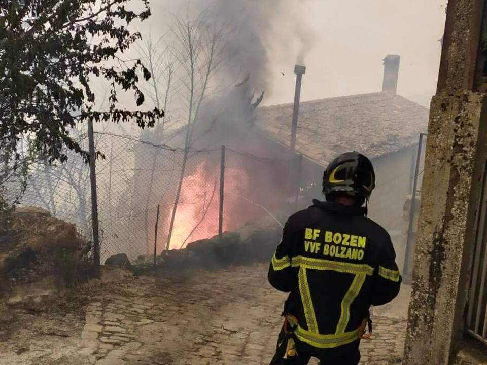 Feuerwehreinsatz Sizilien