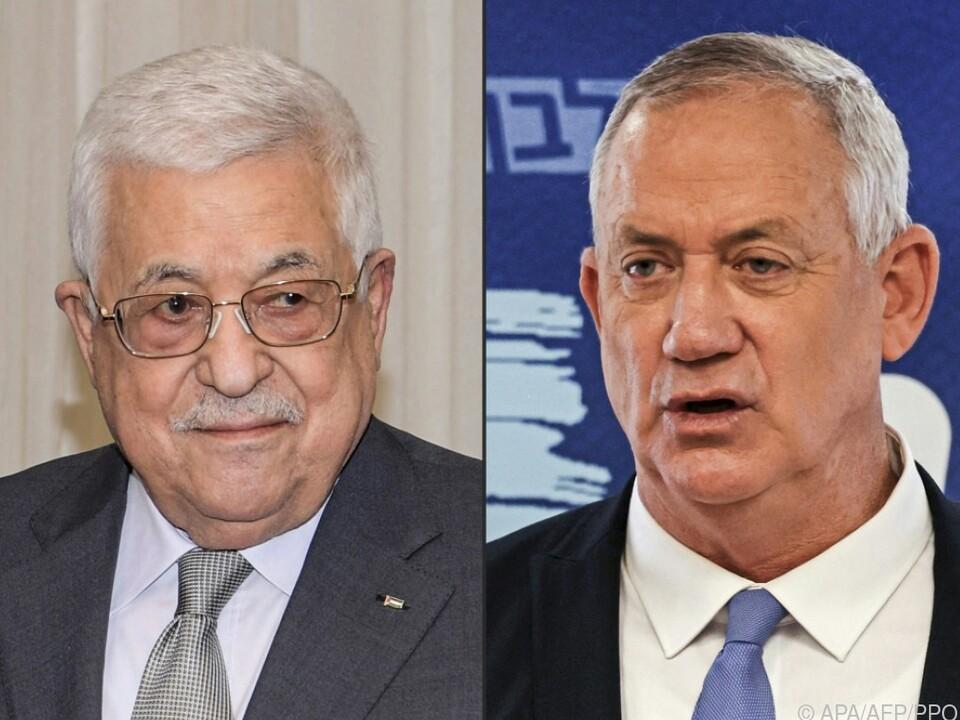 Abbas und Gantz führten Gespräch