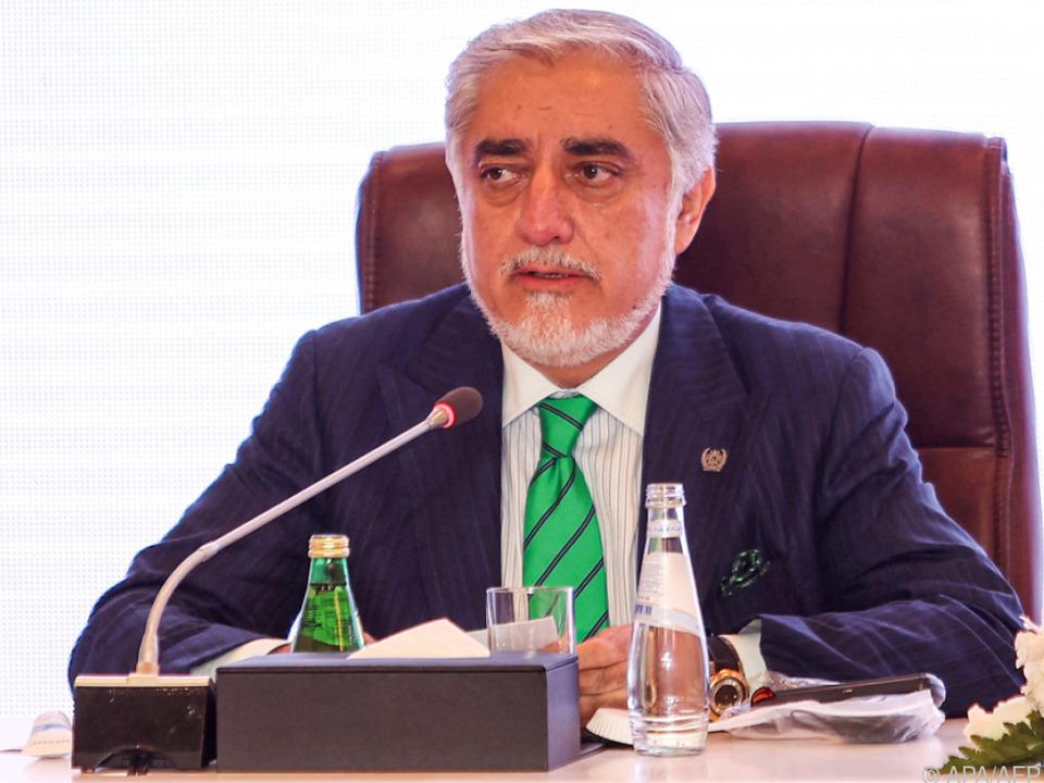 Abdullah Abdullah will offenbar in der Panjshir-Frage vermitteln