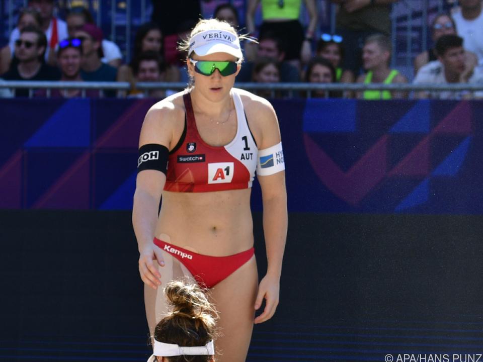 Achtelfinal-Aus für Österreichs Frauentopteam