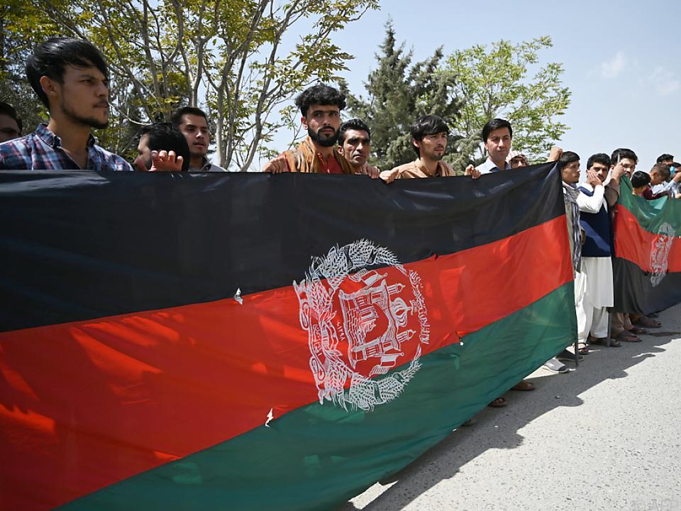 Afghanen feiern den Unabhängigkeitstag von Großbritannien