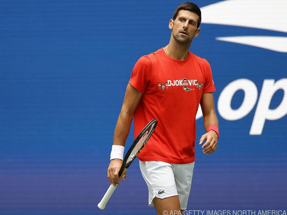 Alles klar für den Grand Slam? Djokovic ist bereit