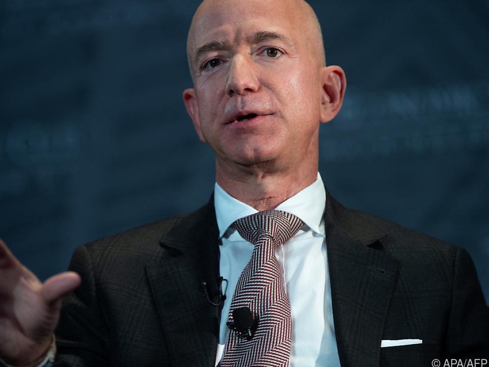 Amazon-Gründer und -Chef Jeff Bezos will mehr