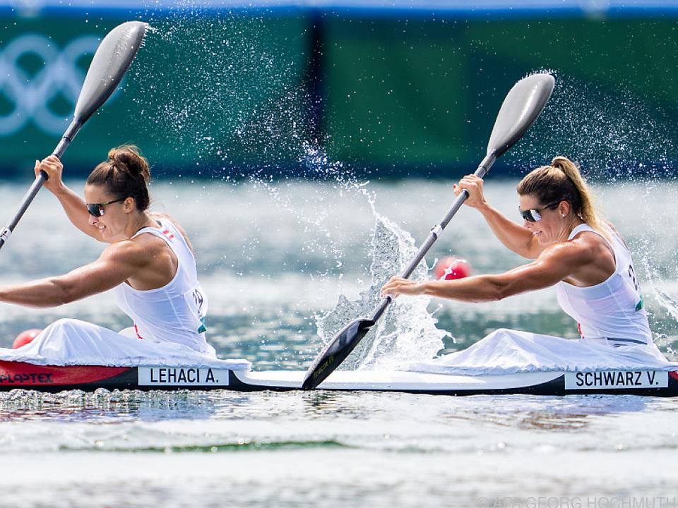 Ana Roxana Lehaci und Viktoria Schwarz sind im Semifinale dabei