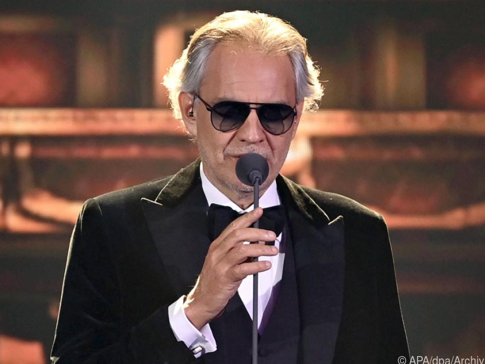 Andrea Bocelli vermisst das Publikum