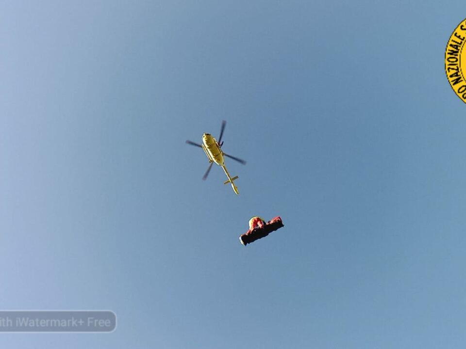Rettungshubschrauber Trentino CNSAS