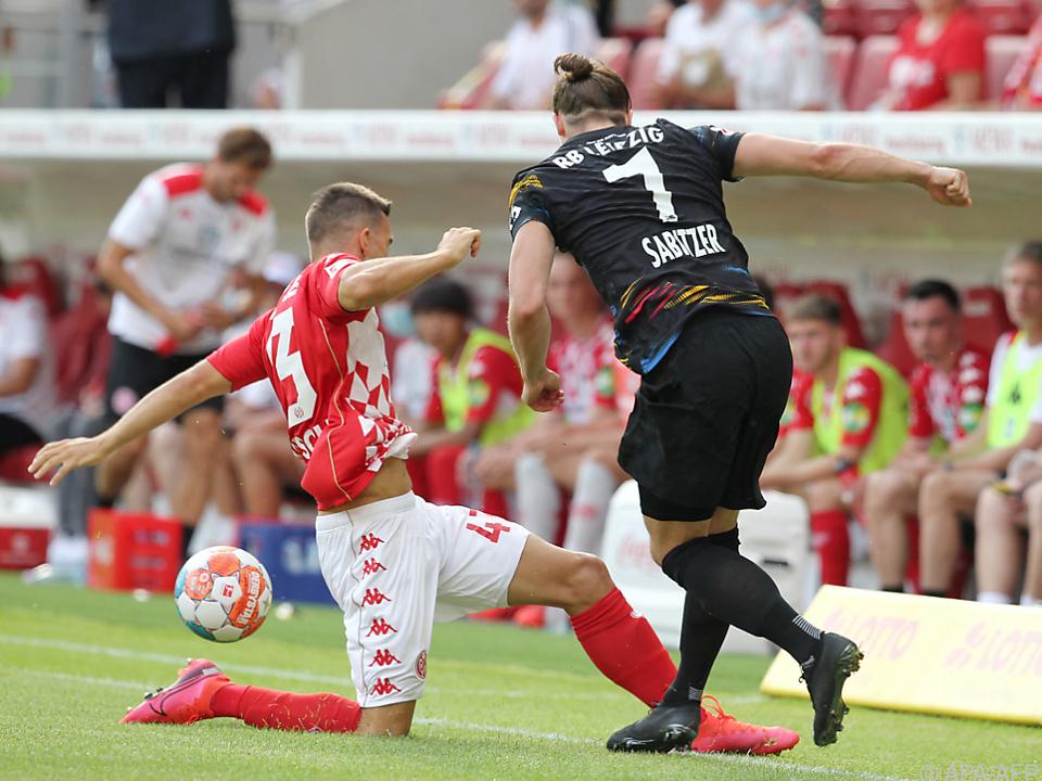 Auch Sabitzer konnte gegen Mainz nicht glänzen
