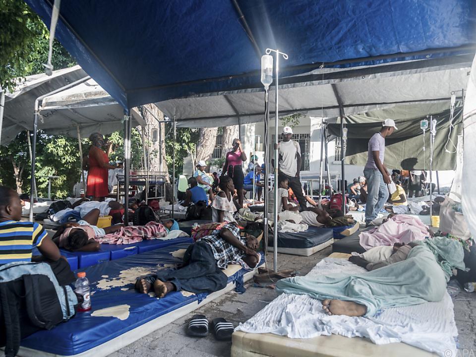 Auf Hispaniola drohen Überschwemmungen und Erdrutsche