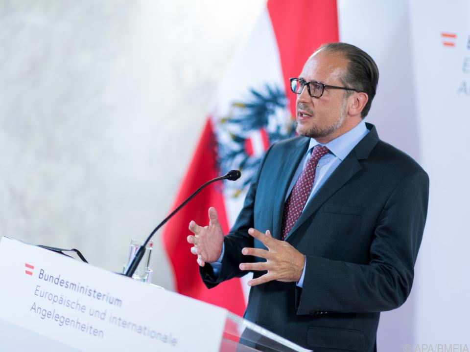Außenminister Alexander Schallenberg (ÖVP)