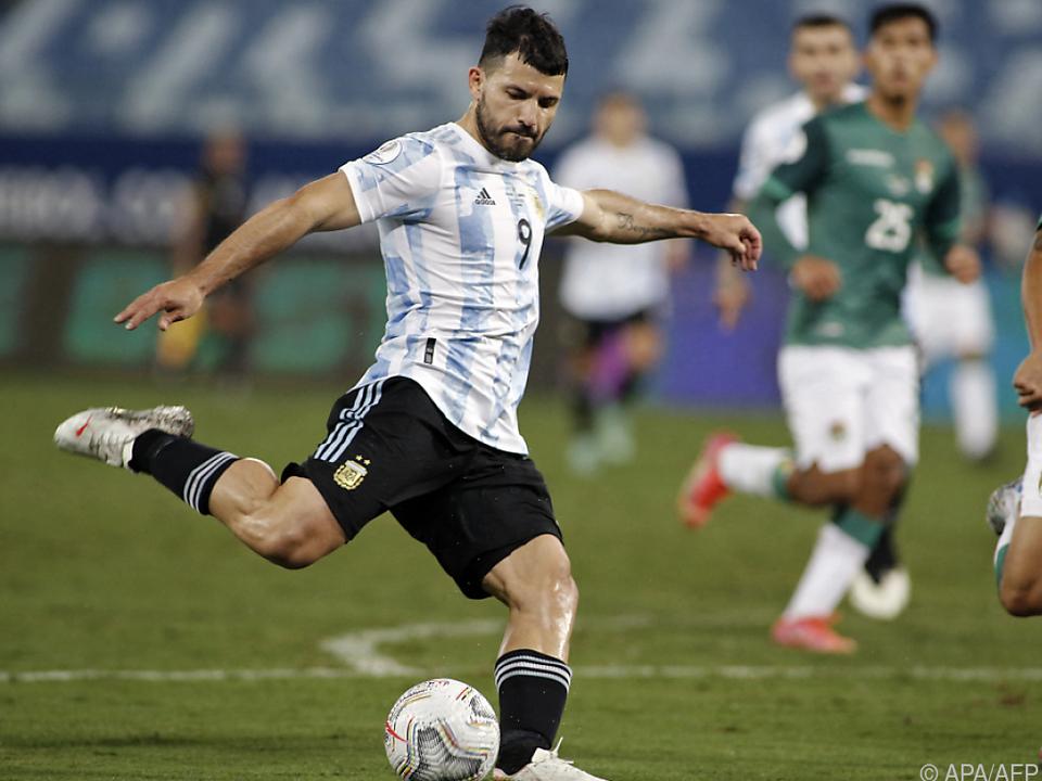 Bei der Copa America im Sommer war der Stürmer noch im Einsatz
