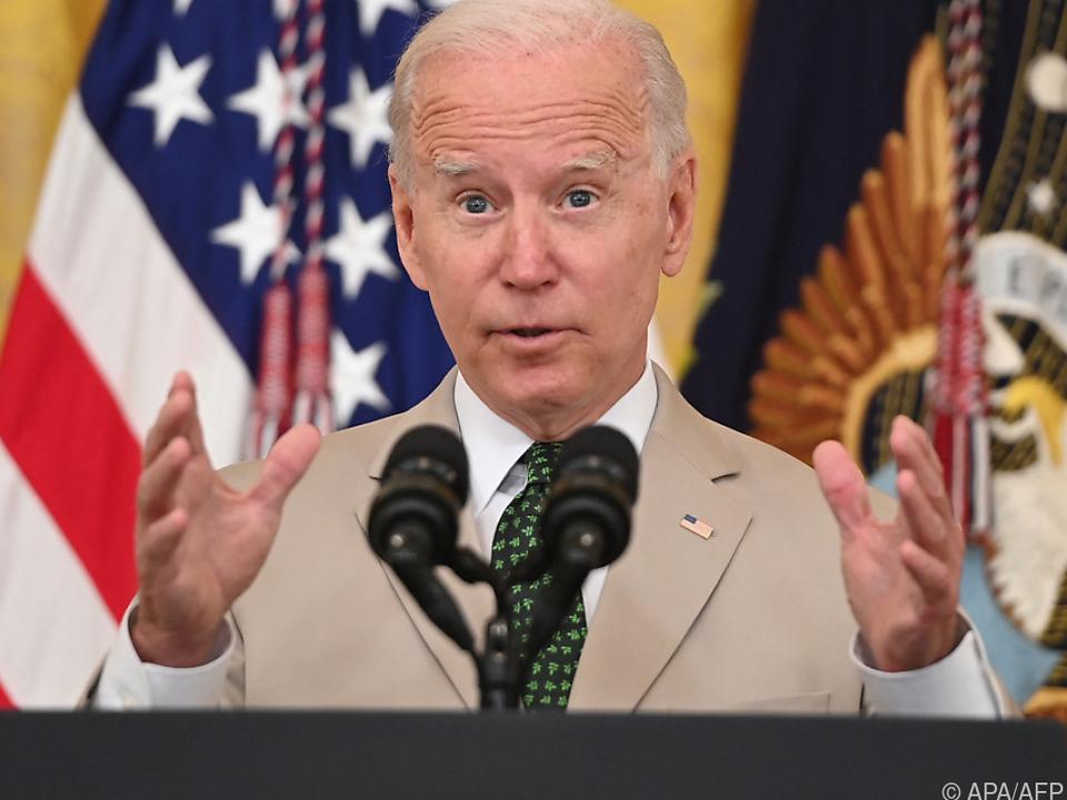 Biden hofft auf Zustimmung des US-Senats