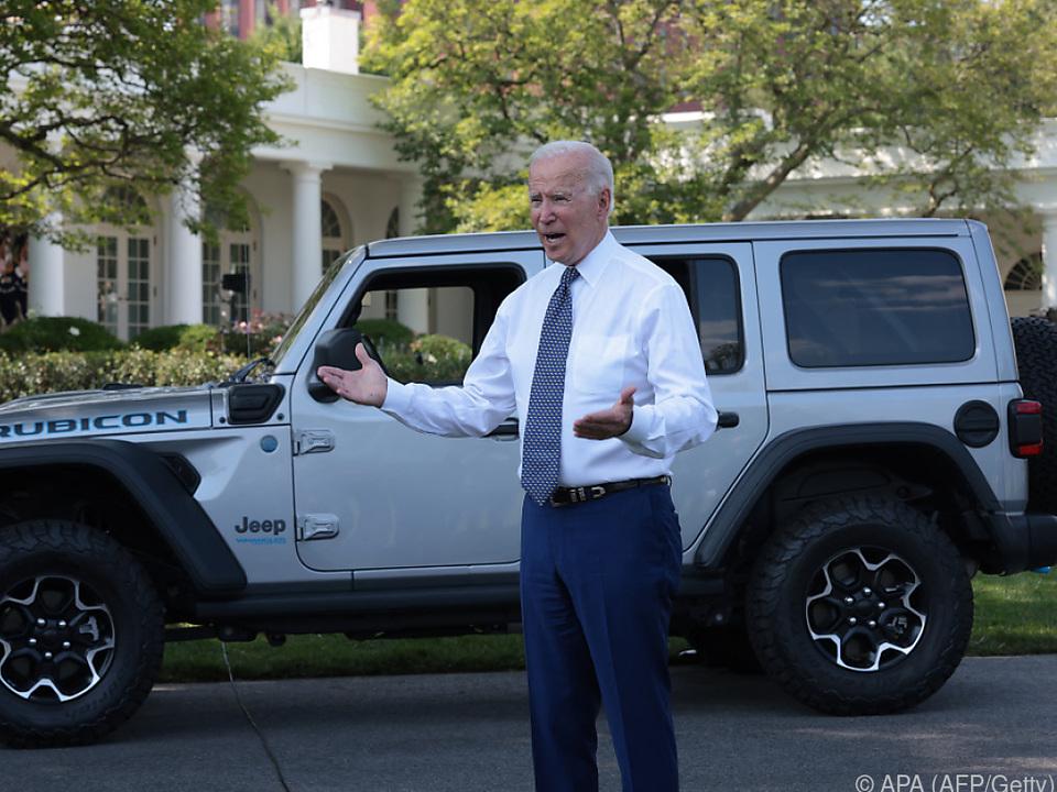 Biden will US-Autoindustrie grüner machen