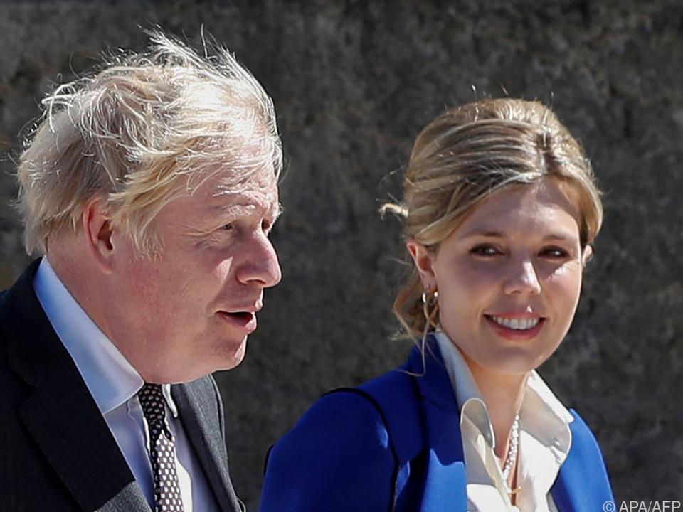 Boris Johnson und Ehefrau Carrie erwarten das zweite gemeinsame Kind