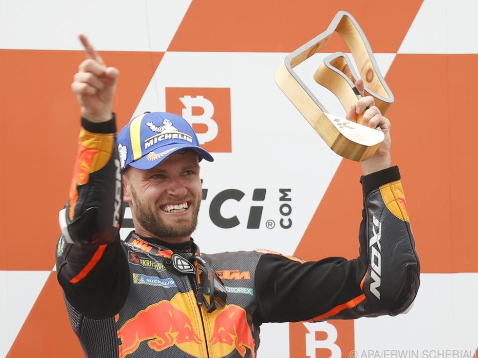 Brad Binder gelang überraschender Heimsieg für KTM in Spielberg