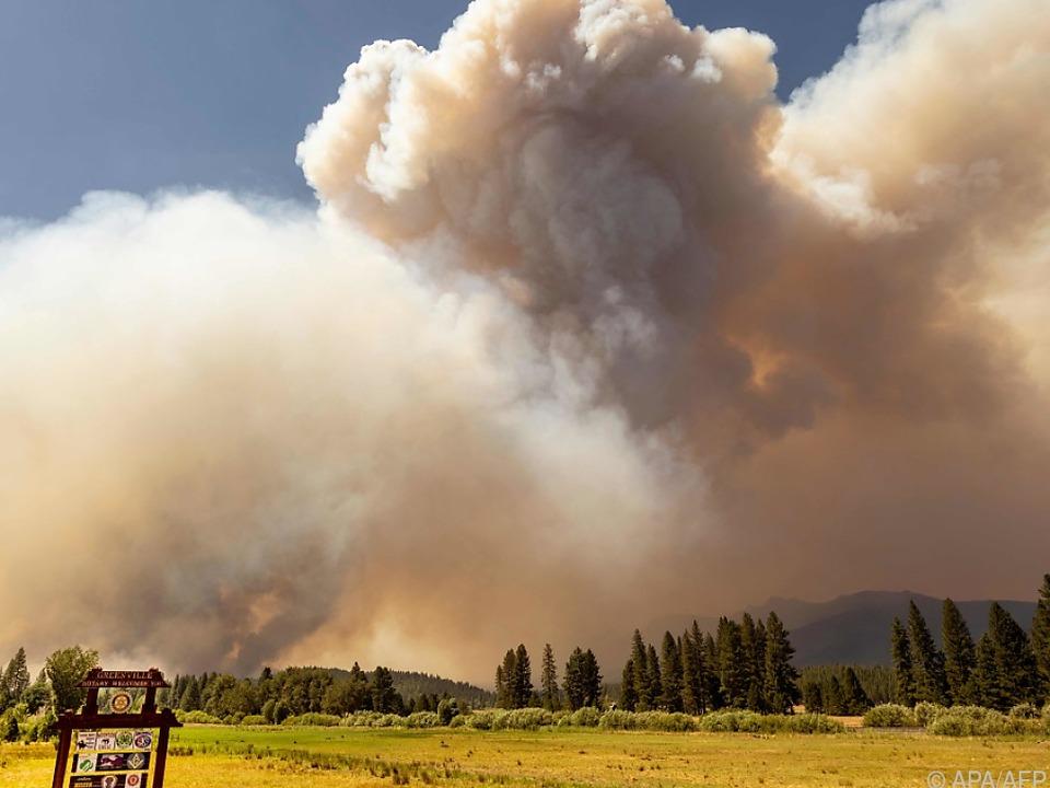 Brände in Kalifornien - IPCC warnt vor weiteren Naturkatastrophen