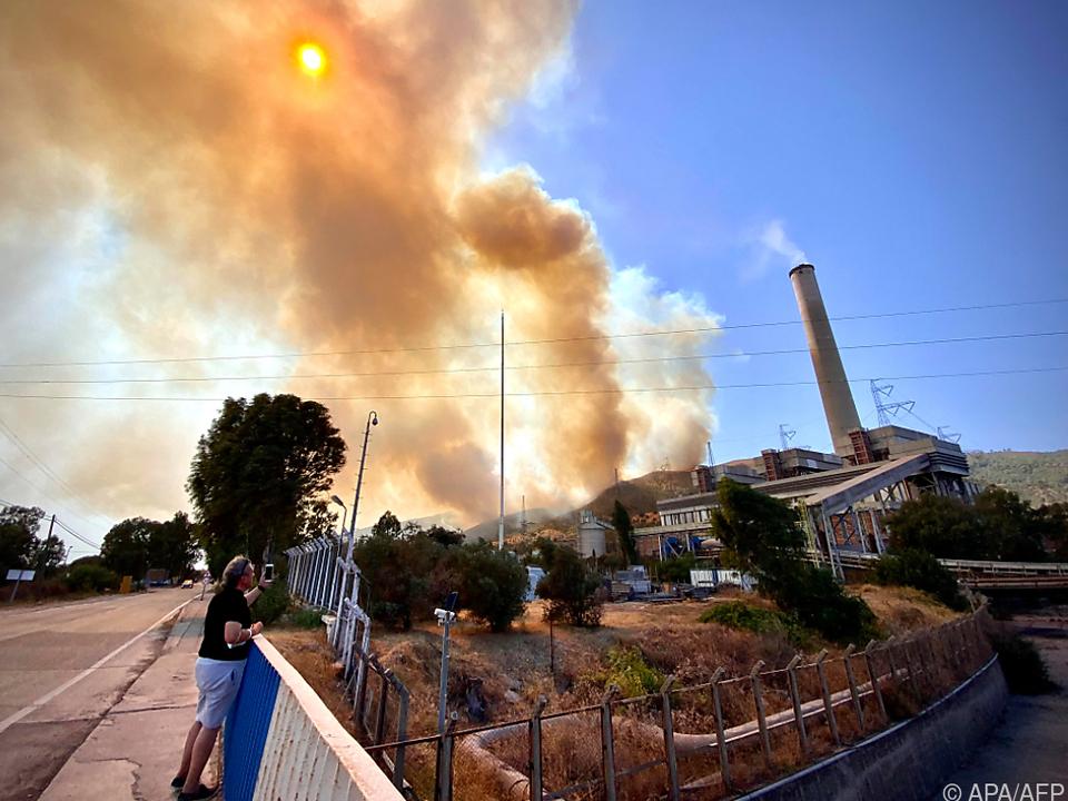 Brand erreicht türkisches Kohlekraftwerk