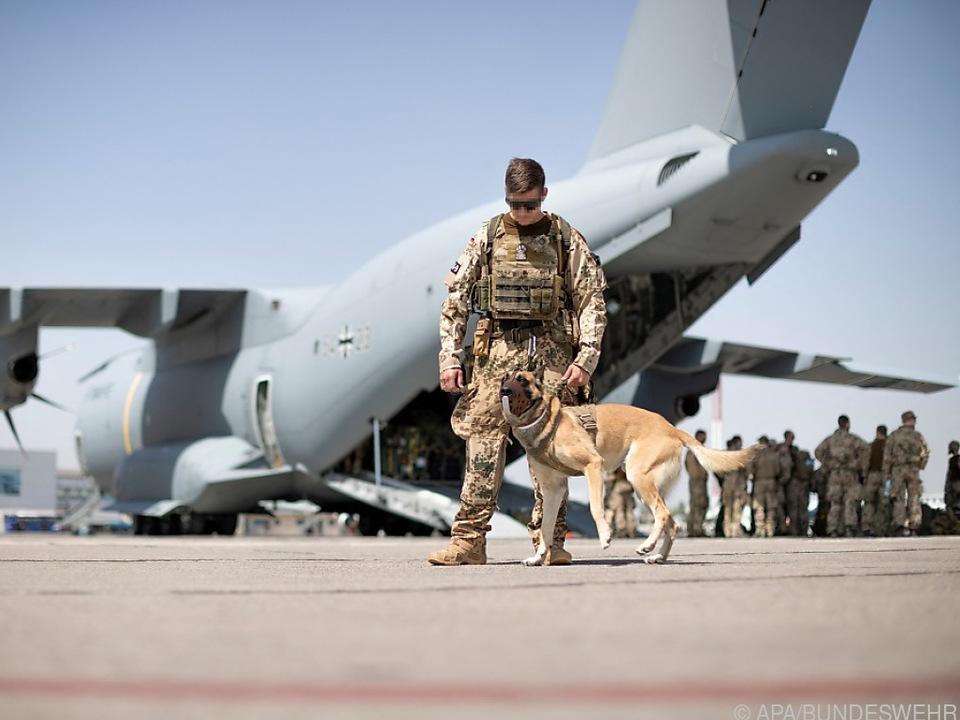 Bundeswehr zieht vier Tage vor den USA ab